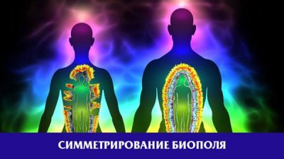 Симметрирование биополя